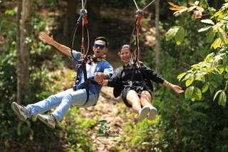 [FLASH SALE] Trải nghiệm Extreme ATV và Zipline Canopy tại Kong Forest Nha Trang, VND 1.700.000