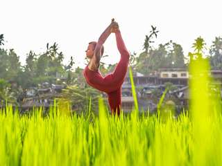 Maha Hatha Practice with a US-based Yoga Champion, Rp 220.500
