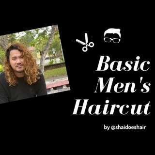 Basic Men's Haircut Tutorial, RM 10