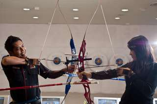 Stars Archery at Berjaya Times Square, RM 13.50
