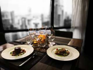 Sunset Dinner with Helipad Admission at Nomo Restaurant, Menara KH, RM 469.10