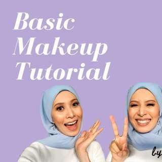 Back To Basic Makeup Tutorial, RM 10