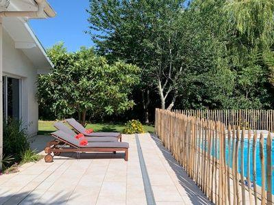 Location de vacances en villa pour 8 personnes à Benesse Maremne(40) avec piscine