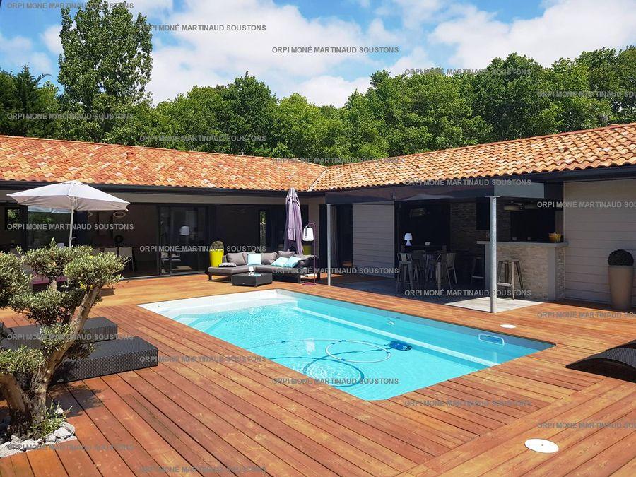 Villa pour 6 à Soustons réf LAMATHE