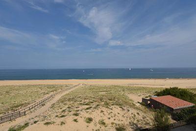 En front de mer - Superbe Vue Océan Plages Pyrénées  Estacade et Pinède