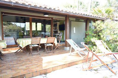Capbreton - Agréable villa des années 80 située dans un quartier résidentiel à 8