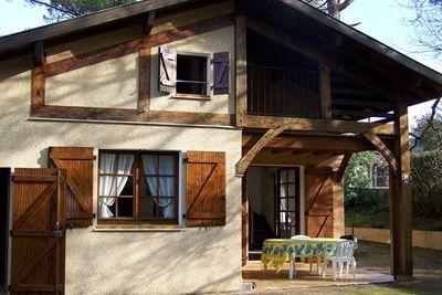 Seignosse - Agréable villa landaise sur jardin clos proche des plages et du Golf