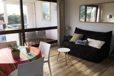 Capbreton - Confortable appartement rénové avec vue sur le port de plaisance et