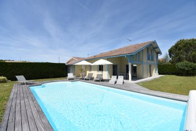 Seignosse - Confortable villa contemporaine avec piscine