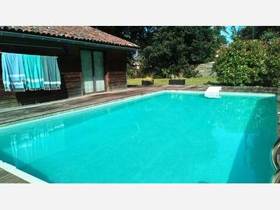 Location de vacances en villa pour 8 personnes à Soustons(40) avec piscine