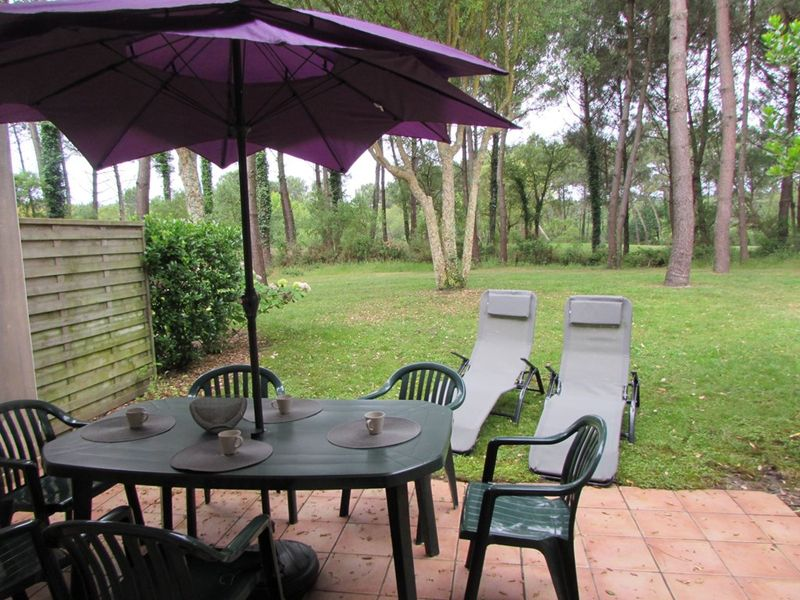 Holiday rental in Soustons. Apartment for 6 people