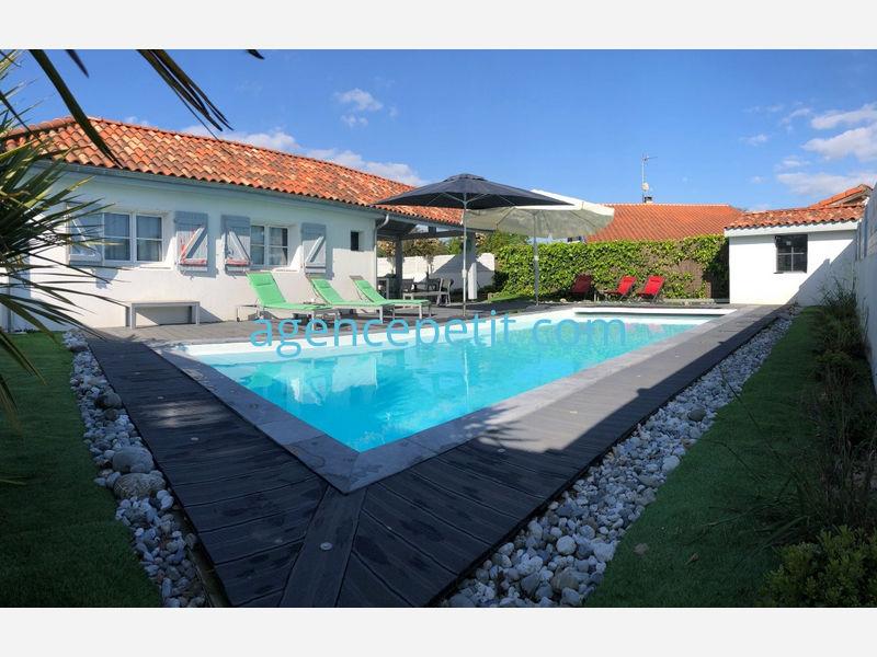 Villa pour 12 à louer à Capbreton - Agence Petit