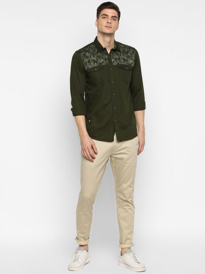 Military style Shirt