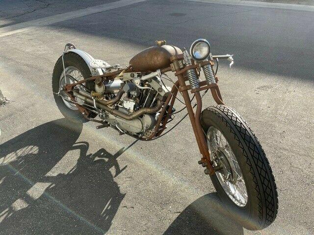 1966 Harley-Davidson XLCH Sportster Custom Style Cafe bobber