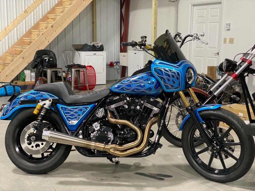 1993 Harley Davidson FXR Custom S&S 111 Baker 6 speed