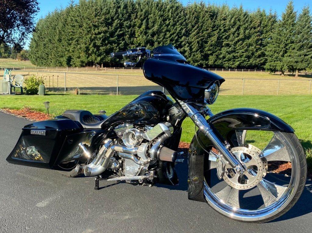 2014 Harley Davidson Street Glide Built by John Shope's Dirty Bird Concepts