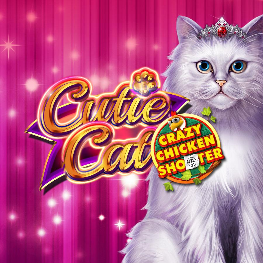 Cutie Cat Crazy Chicken Shooter