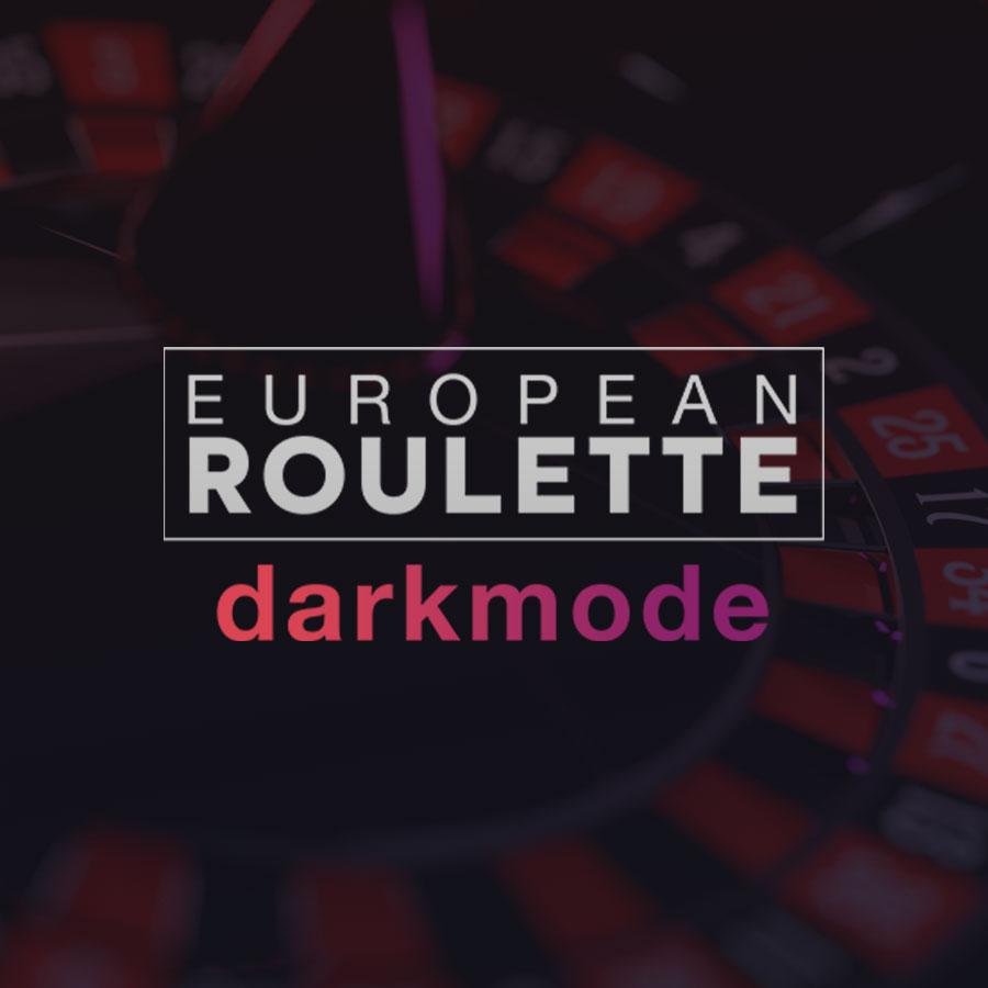 European Roulette Dark Mode