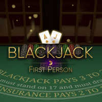 First Person Blackjack