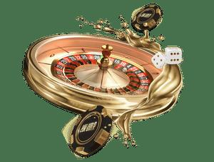 Golden Roulette Wheel Mobile