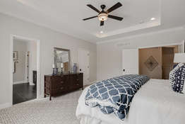 Coffered Ceiling and Premium Carpeting