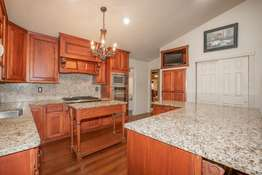 Granite Countertops and Backsplash