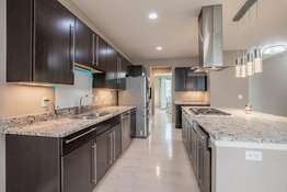 42 Inch Custom Cabinetry and Granite Countertops