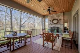 Screened-in Porch with Low-Maintenance Flooring