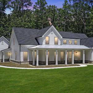 New Modern Farmhouse with Award Winning Plan