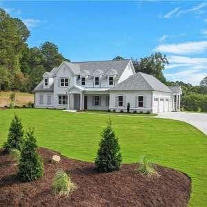 Stunning Custom Farmhouse Architecture