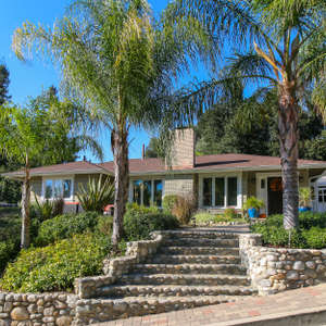 Sunset vistas from La Canada upgraded traditional