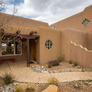 Southwestern style home in Placitas, New Mexico!