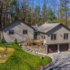 SOLD! Walk to Town Beach PLUS Private Dock on Candlewood Lake!