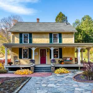 Charming Historic Home with Barn overlooking Buttermilk Falls