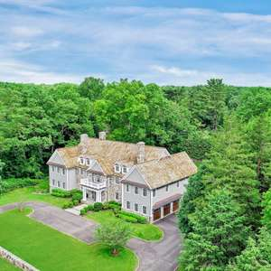 Magnificent Stone and Clapboard Colonial Estate