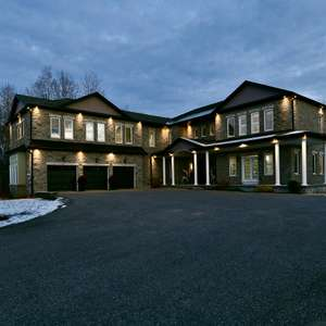 Custom Built Executive Home on Almost 2 Acres