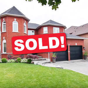 Beautiful Red Brick Home In sought-after Pickering Village