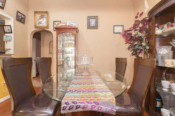 Formal dining room in this House for sale In Jamaica Queens NY