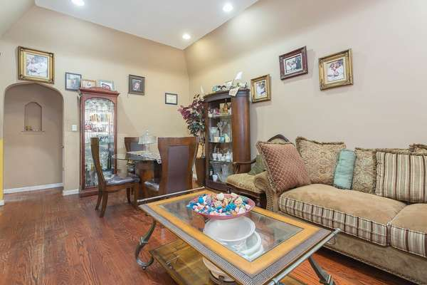 Large living room in House for sale In Jamaica Queens NY