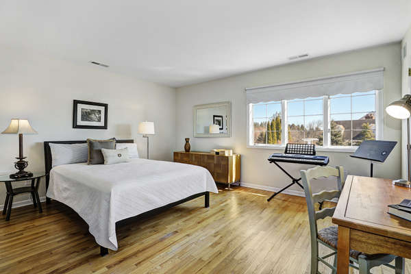 ONE OF 4 NATURALLY SUN-DRENCHED 2ND LEVEL BEDROOMS