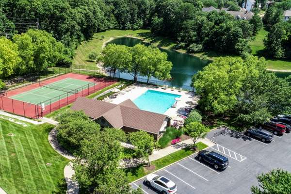 Subdivision Pool and Tennis Courts
