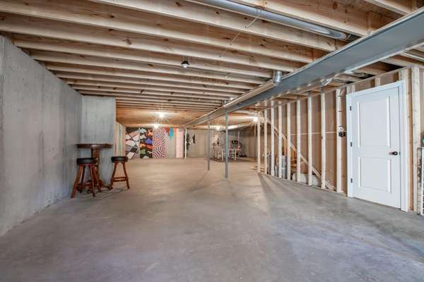Unfinished Lower Level