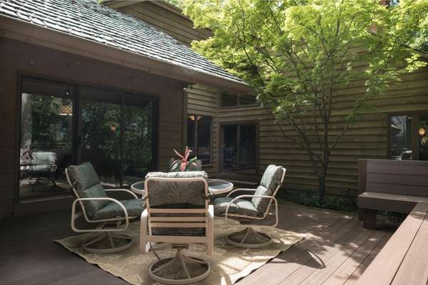 Relax Outdoors and Enjoy Views of the Private, Wooded Backyard!