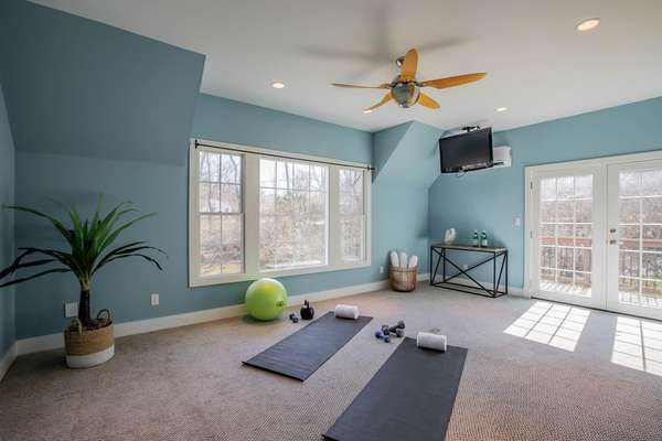 Sitting Room or Fitness Area