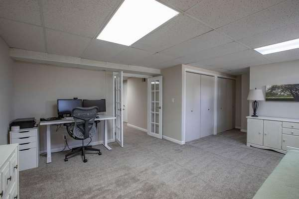 Bonus Room with French Doors (Currently Used as a Home Office)