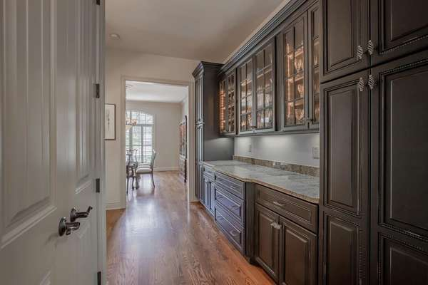 Marc Christian Designed Butler's Pantry (13 x 8 ) with Granite Countertop and tons of Storage