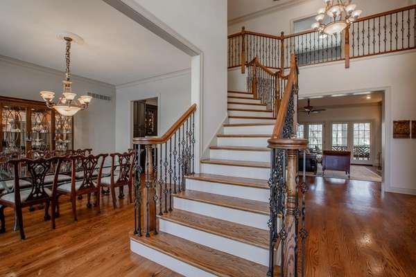 Make your way up the Incredibly Beautiful, Handcrafted Staircase!