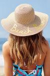 Beach Bum Wide Brim Floppy Hat image