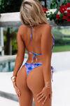 Laguna South Beach Palm Triangle Bikini Top image