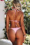 Baby Pink Triangle Top image